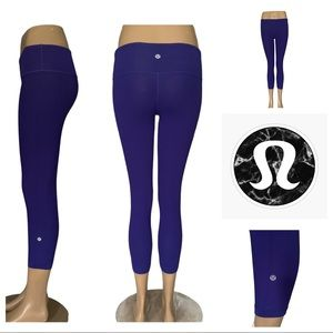 REVERSIBLE Lululemon Wunder Under Crops